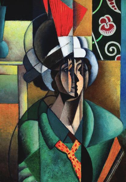 La Femme à l'Éventail (Woman with Fan), 1913 - Jean Metzinger