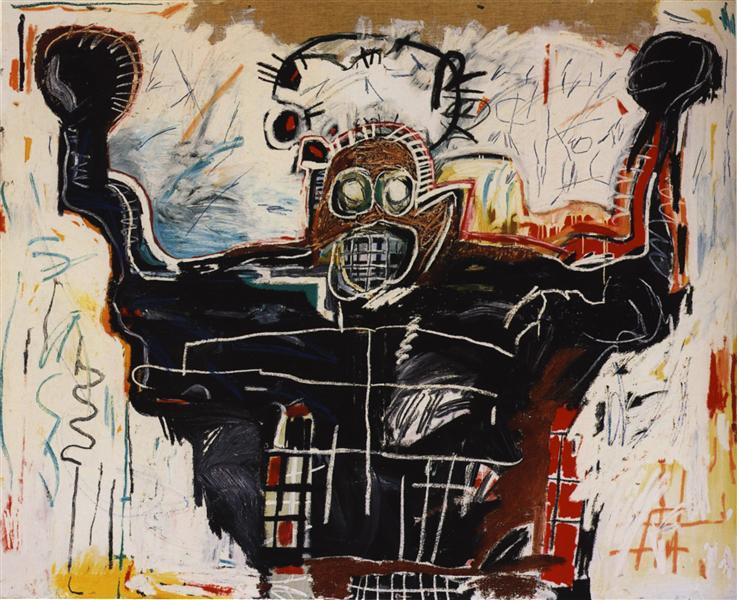 Boxer, 1982 - Jean-Michel Basquiat