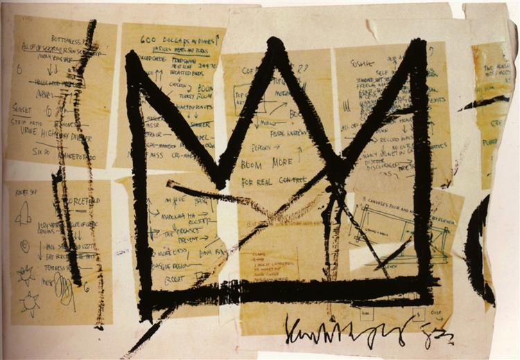 Crown - Basquiat Jean-Michel