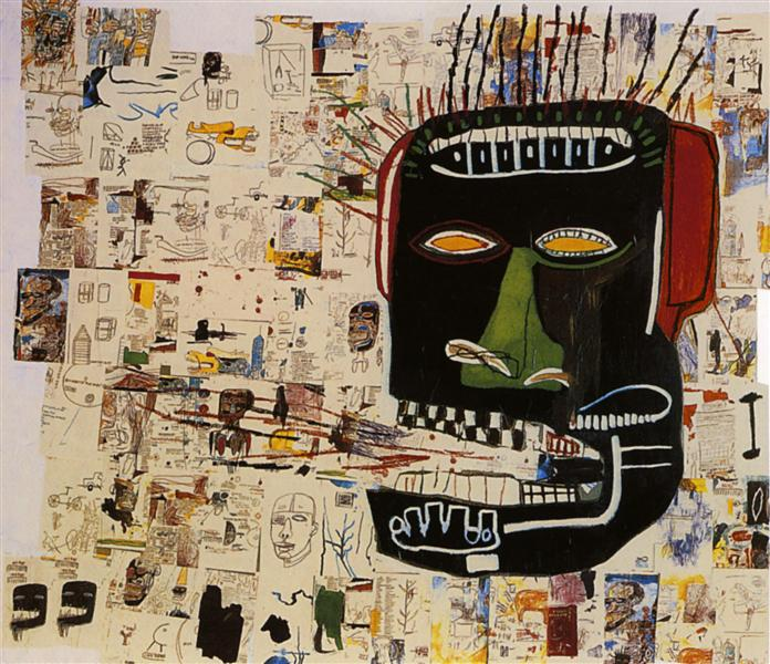 Glenn, 1984 - Jean-Michel Basquiat