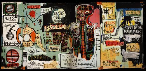 Notary - Jean-Michel Basquiat