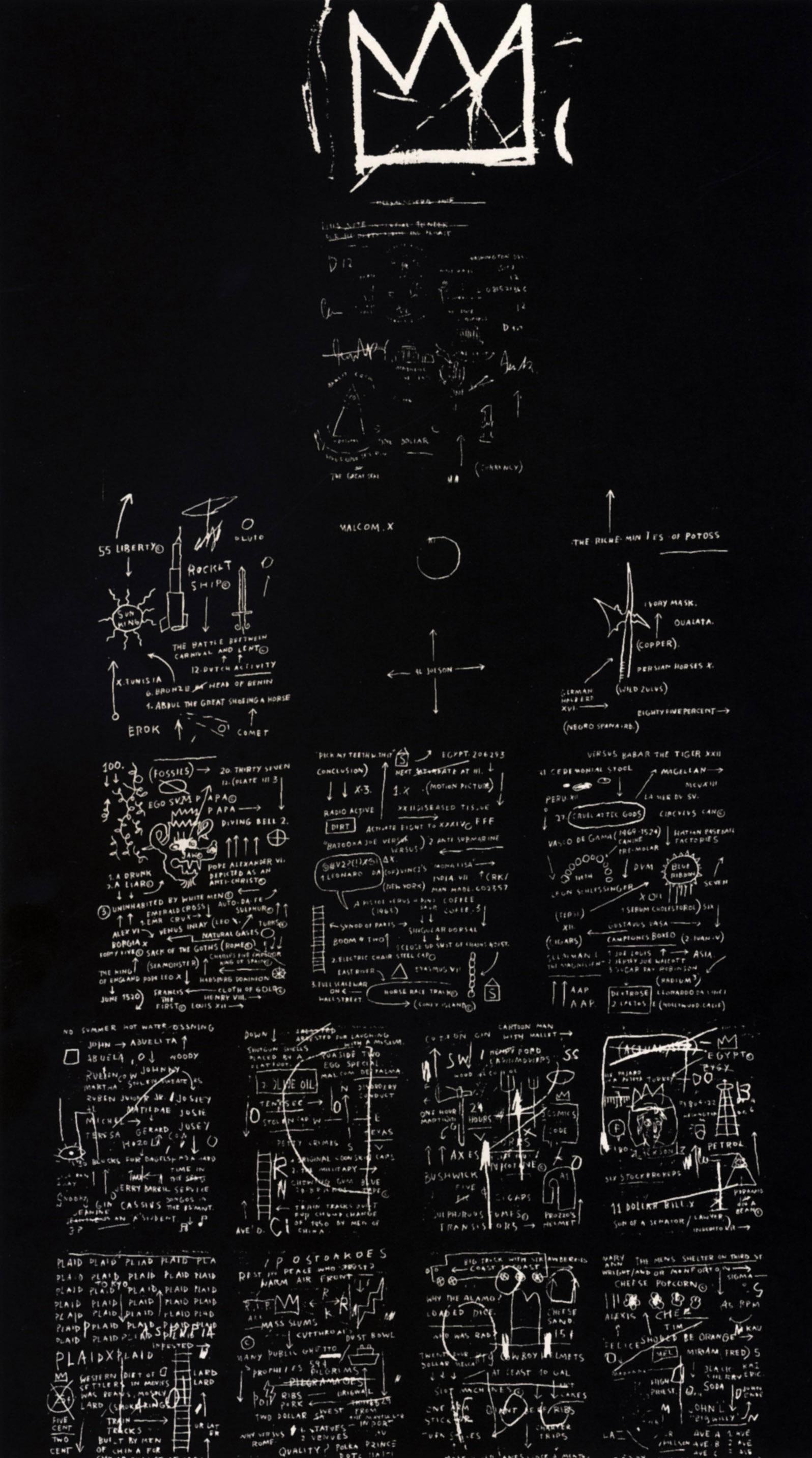 Tuxedo, 1982 - Jean-Michel Basquiat - WikiArt.org