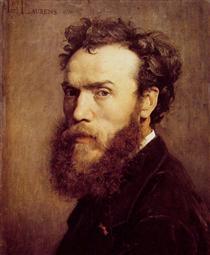Self-portrait - Jean-Paul Laurens