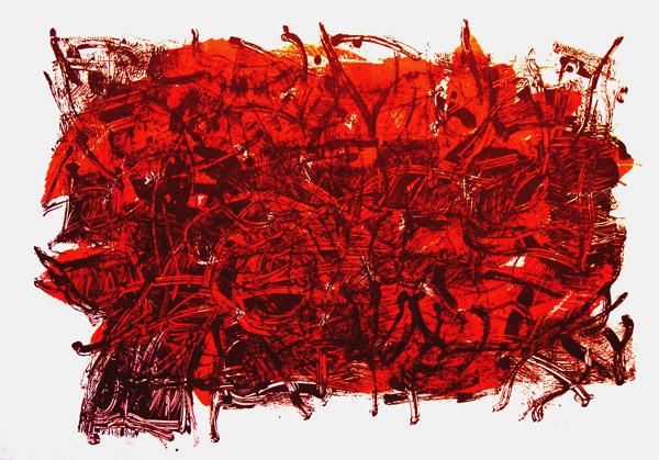Leaves III - Jean-Paul Riopelle