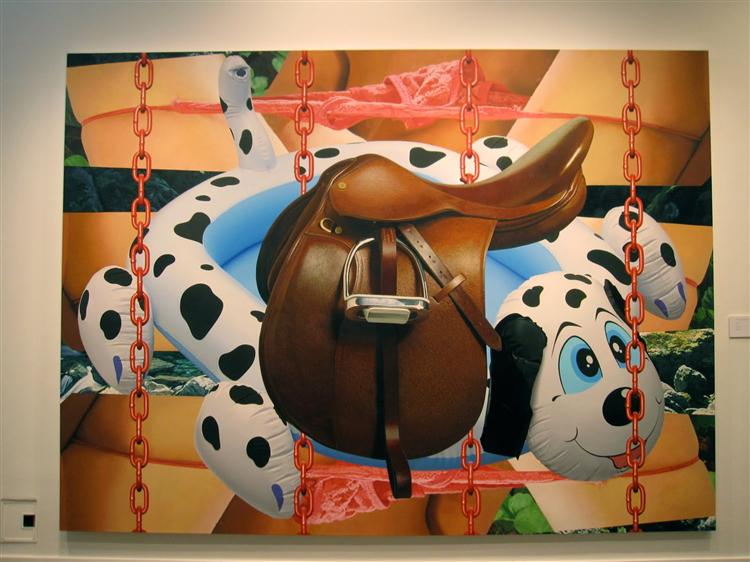 Saddle, 2003 - Jeff Koons