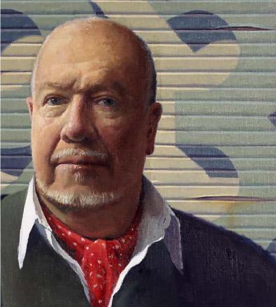 Self-portrait - Jeffrey Smart