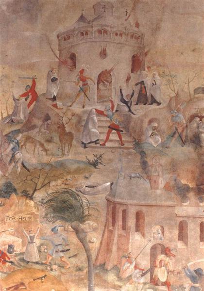 Martyrdom of the Carmelites, 1517 - Jerg Ratgeb