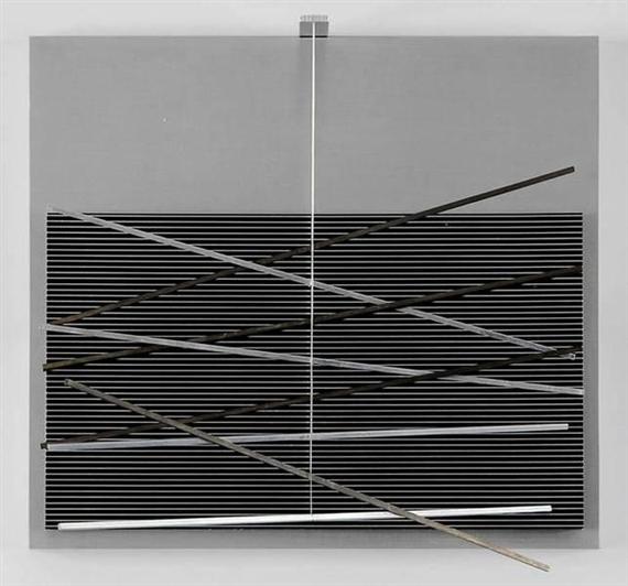 Vibrations métalliques, 1969 - Хесус Рафаель Сото