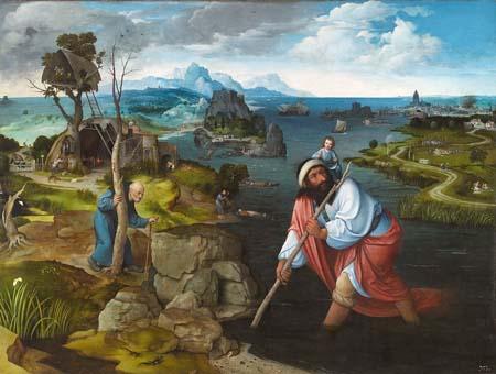 Landscape with St. Christopher, c.1520 - Joachim Patinir
