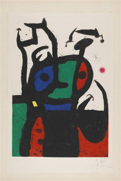 The Matador, 1969 - Joan Miró