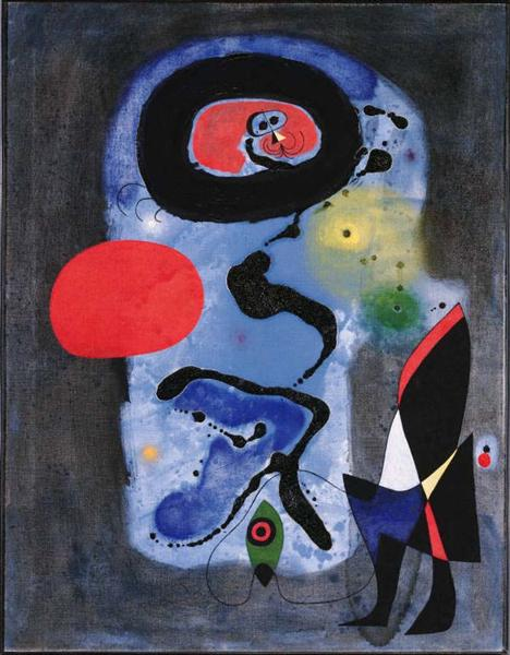 The Red Sun, 1948 - Joan Miro
