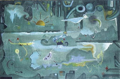 Composición verde - Joan Ponc