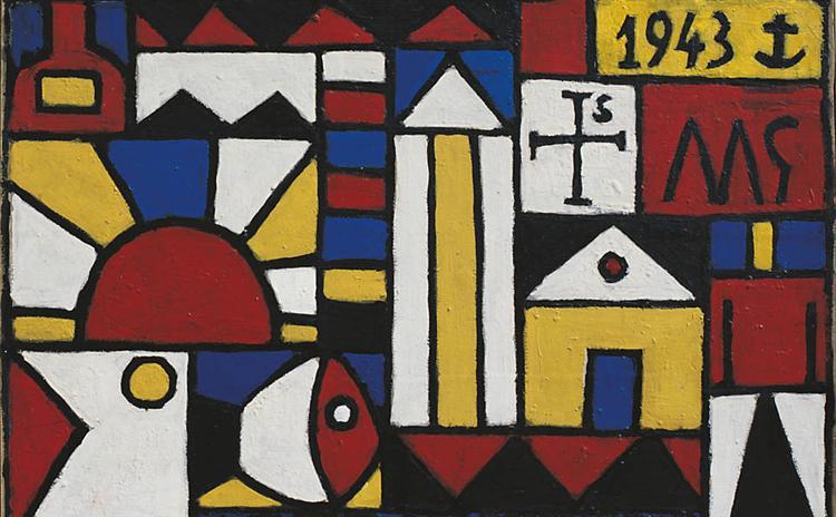 Arte Constructivo, 1943 - Joaquin Torres Garcia - WikiArt.org