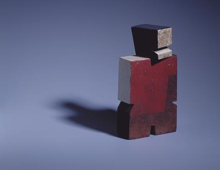 Man with Red Chest, 1929 - Хоакін Торрес Гарсія