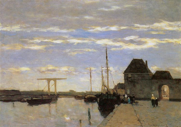 Memory of Haarlem - Johan Hendrik Weissenbruch