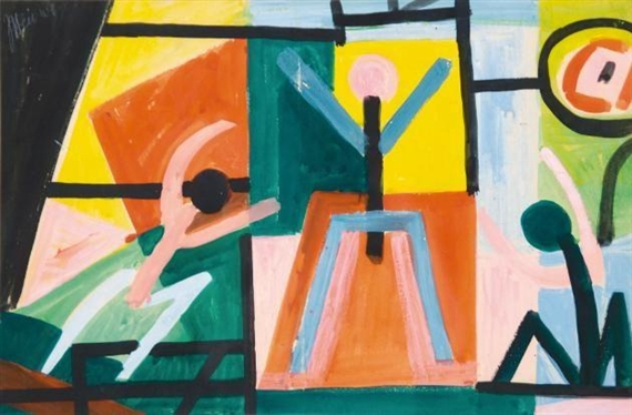 Abstract Figures, 1949