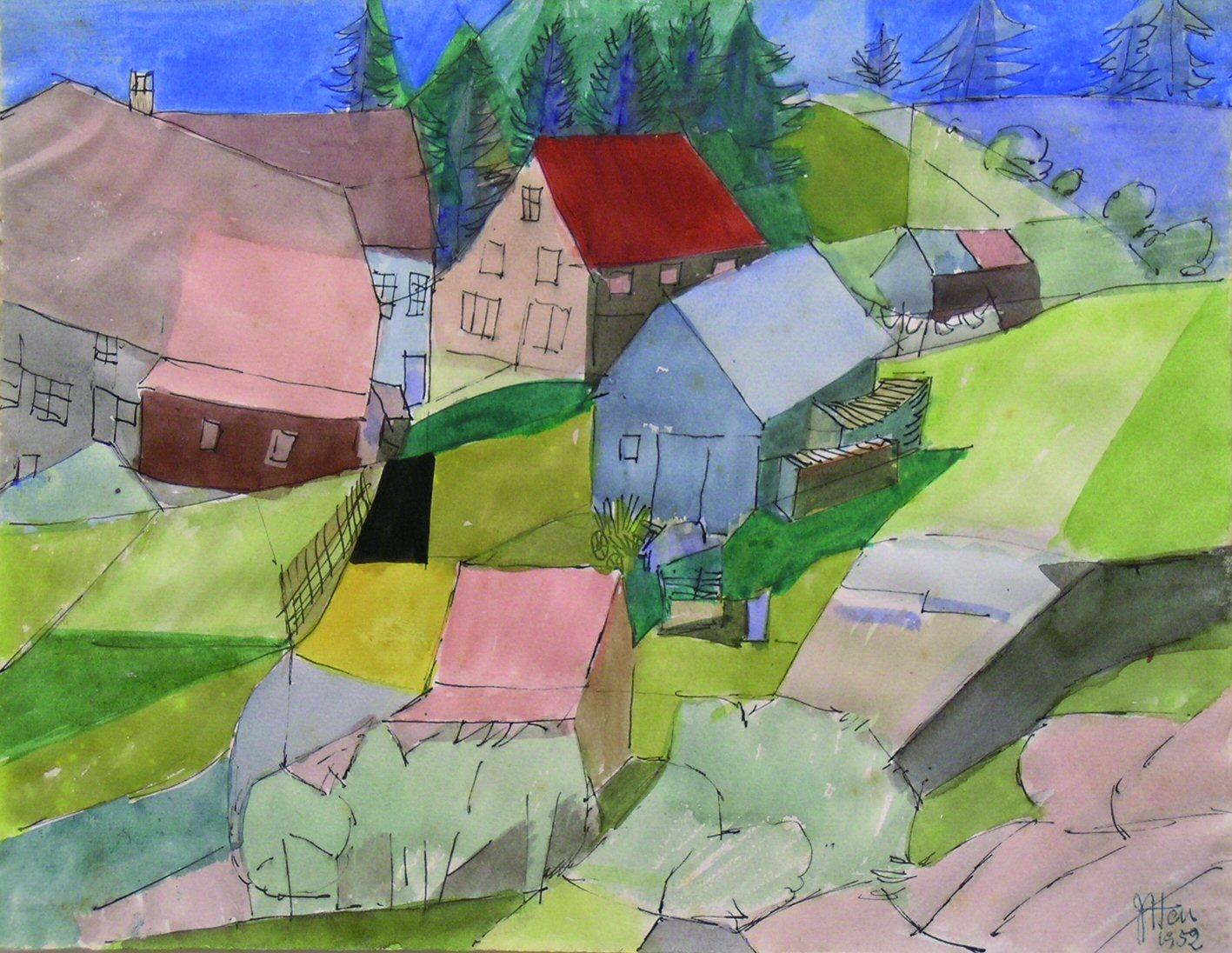 Häuser im Schwarzwald