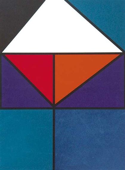 Plakat für Ausstellung Baden-Baden, 1965