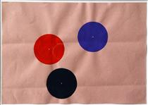 Untitled 1978 - John Armleder
