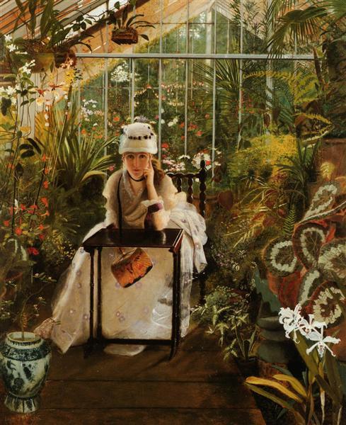 Il Penseroso - John Atkinson Grimshaw