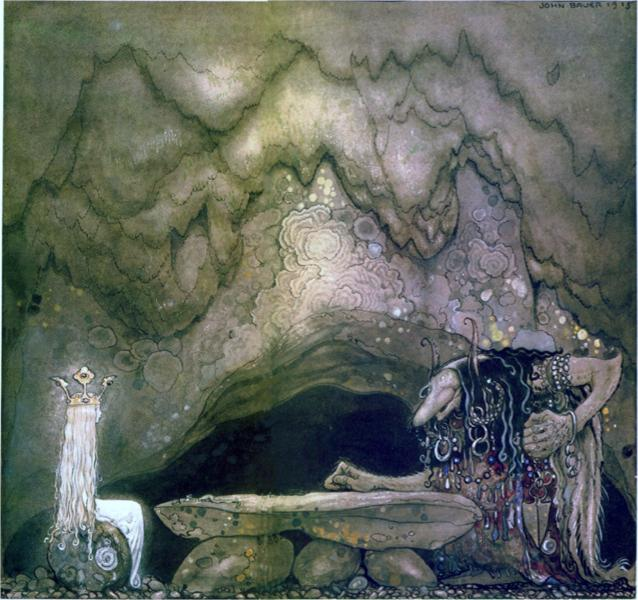 So, how is your appetite, troll mother continued, 1915 - John Bauer