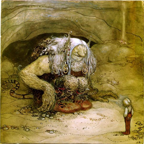The boy who was never afraid, 1912 - John Bauer