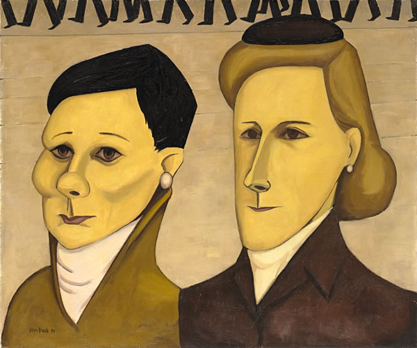 Two Typists, 1955