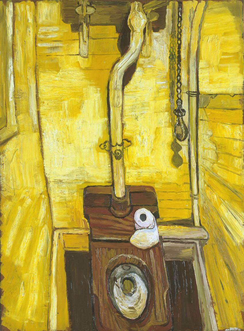 The Toilet, 1955