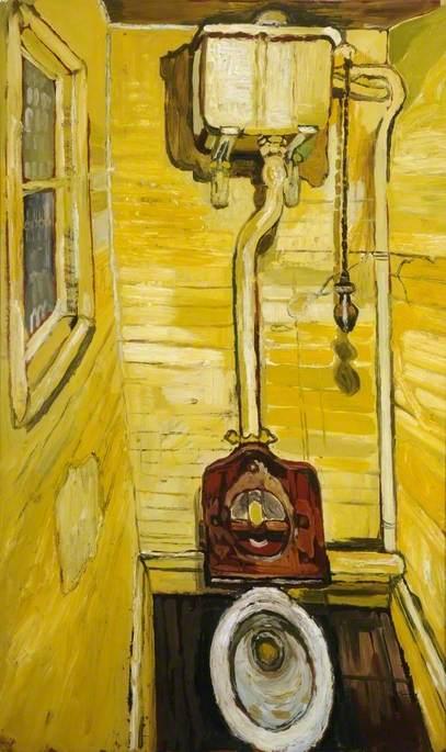 The Toilet John Bratby Encyclopedia Of Visual Arts