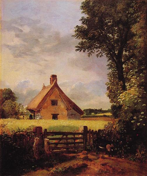A Cottage in a Cornfield, 1817 - John Constable