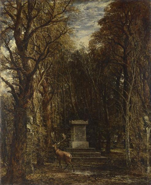 Cenotaph to the Memory of Sir Joshua Reynolds, 1836 - John Constable