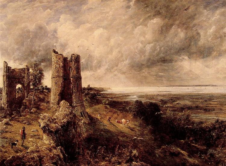 Hadleigh Castle, 1829 - John Constable