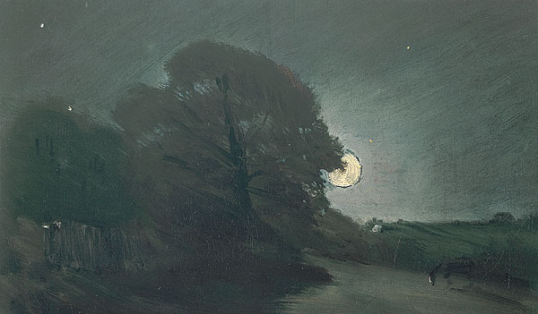 The edge of a Heath by moonlight, 1810 - John Constable