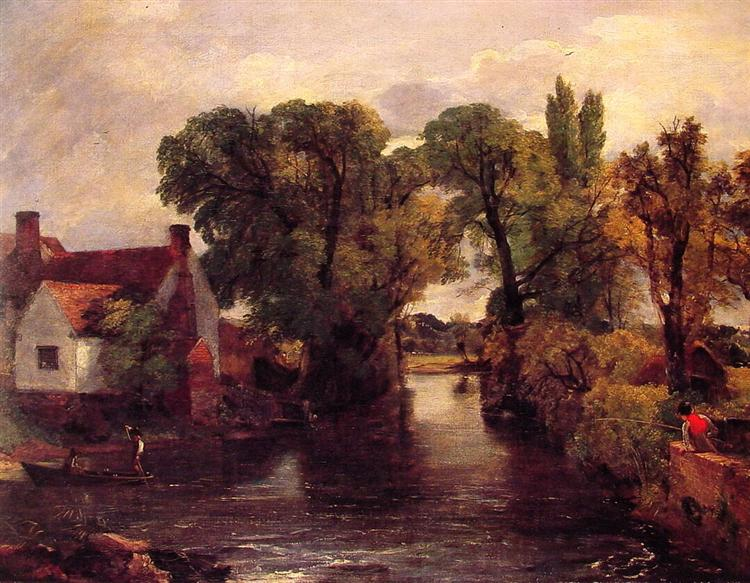 The Mill Stream, 1814 - 1815 - John Constable