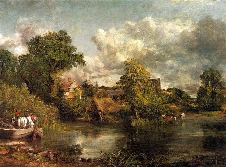 The White Horse, 1819 - John Constable