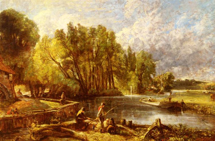 The Young Waltonians, c.1819 - c.1825 - John Constable