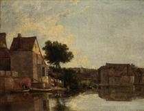 Back of the New Mills, Norfolk - Джон Кром