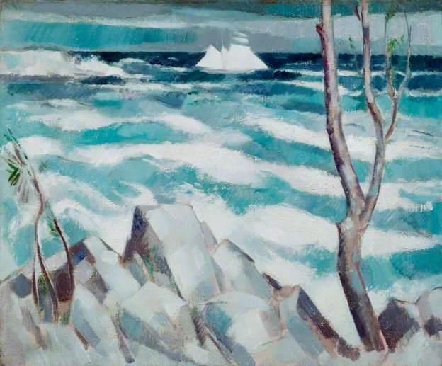 The Breeze, Antibes, 1914 - John Duncan Fergusson