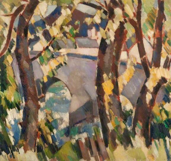 The Bridge and Schiehallion, 1928 - John Duncan Fergusson