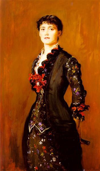 Louise Jopling - John Everett Millais