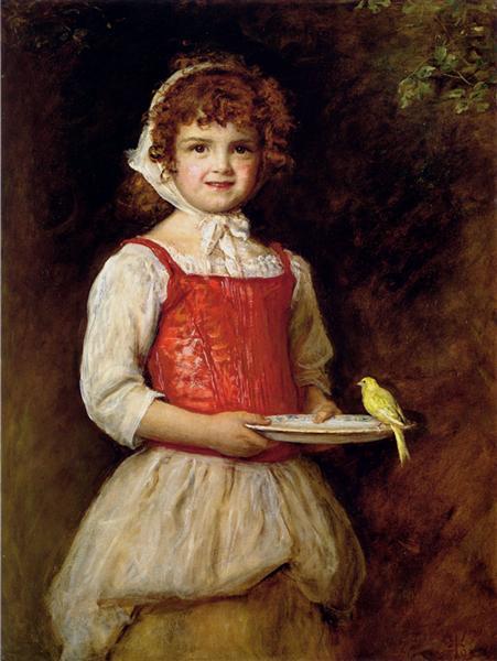 Merry, 1893 - Джон Эверетт Милле