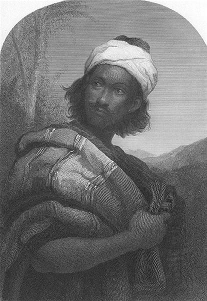 Moorish Chief Engraving, 1879 - Джон Еверетт Мілле
