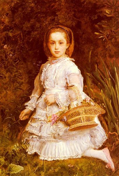Portrait Of Gracia Lees, 1875 - John Everett Millais