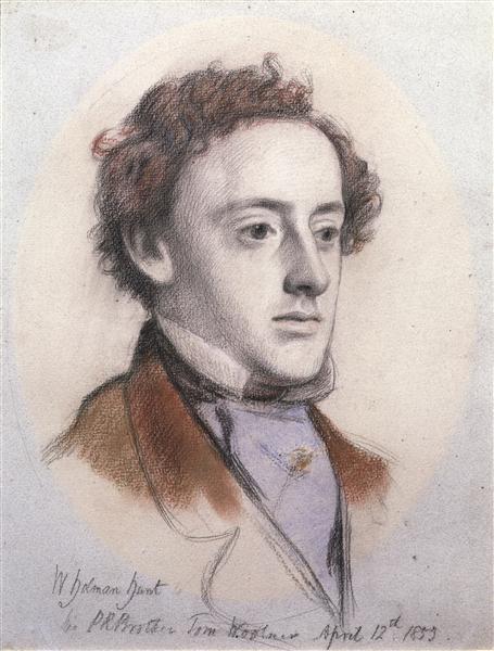 Portrait of John Everett Millais, 1853 - John Everett Millais