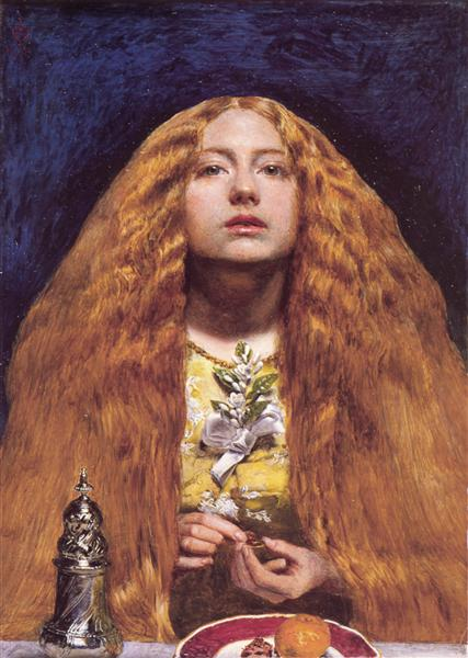 The Bridesmaid - John Everett Millais