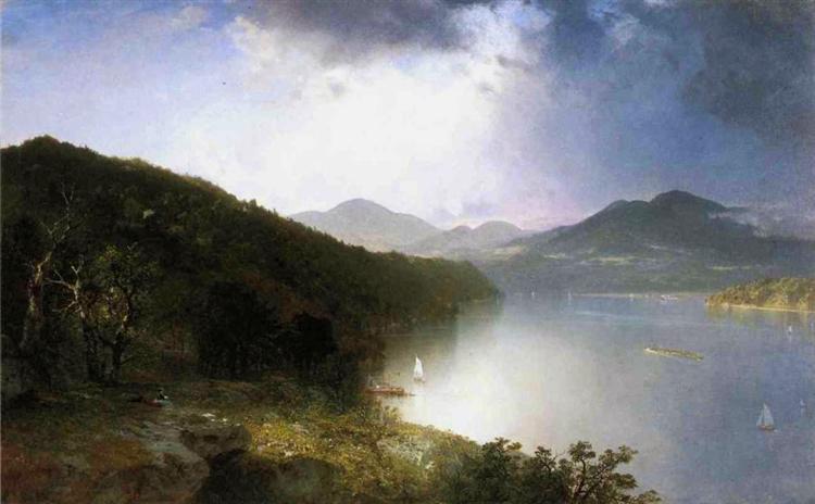Hudson River - John Frederick Kensett