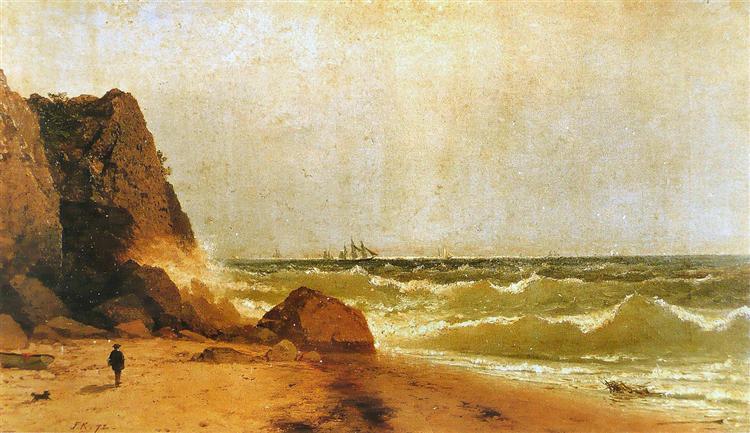 Near Newport, Rhode Island, 1872 - John Frederick Kensett