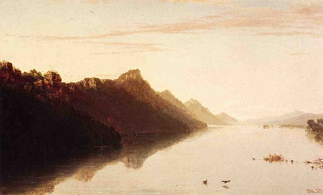 Upper Mississippi, 1855 - John Frederick Kensett