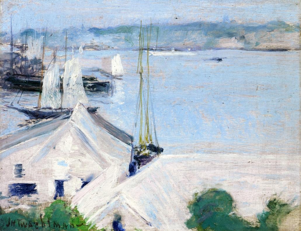 Boats at Anchor, 1900