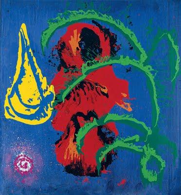 Yellow Boat (7.8.98), 1998 - John Hoyland